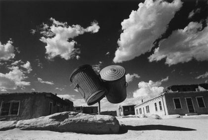 Ikko Narahara: 'Engraved arrow, Arizona' from the series: 'Where Time Has Vanished', 1972 ©Ikko Narahara