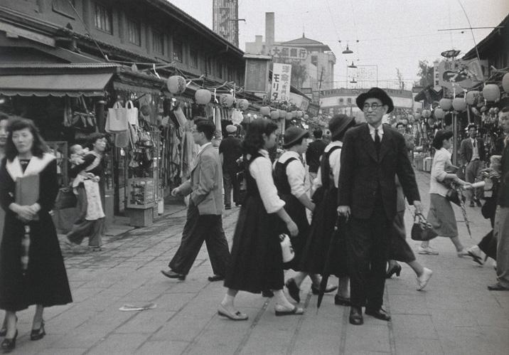 Ihei Kimura: Nagai Kafu [author], 1952