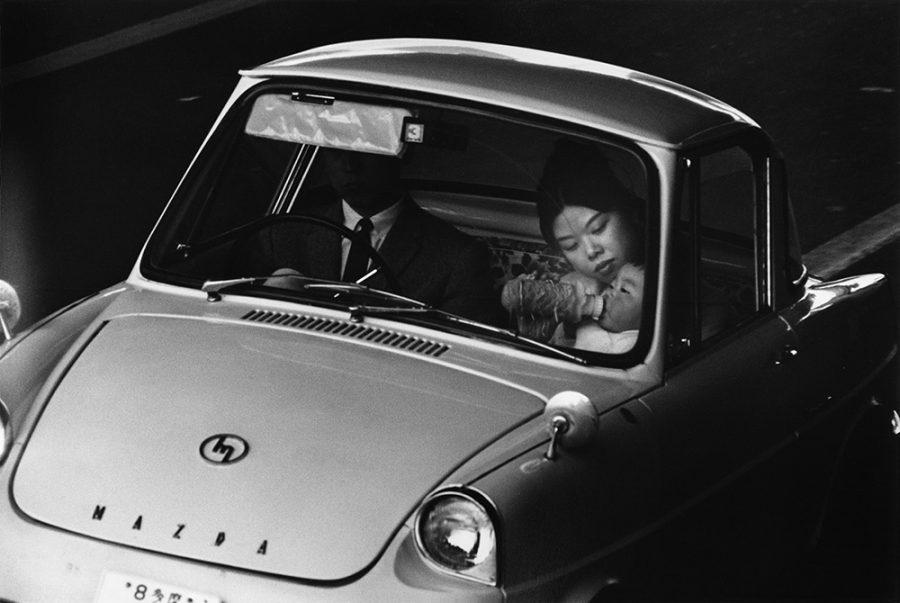 "Yutaka Takanashi: Loop Road 7, Suginami-ku, from the series ""Tokyo-jin"", 1965"