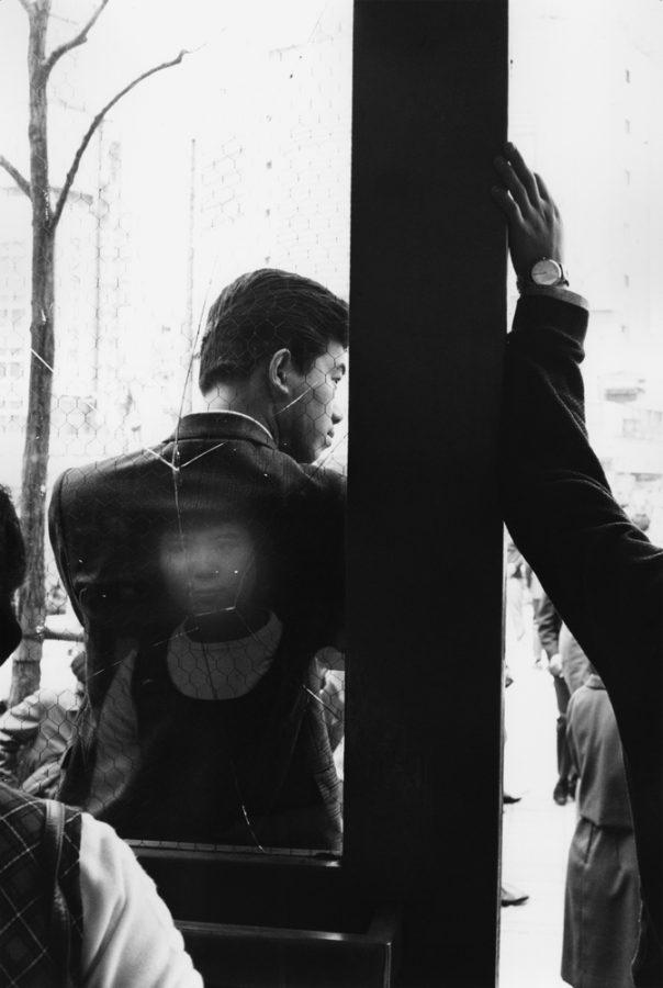 "Yutaka Takanashi: Hachiko Square, Shibuya Station, Shibuya-ku, from the series ""Tokyo-jin"", 1965"