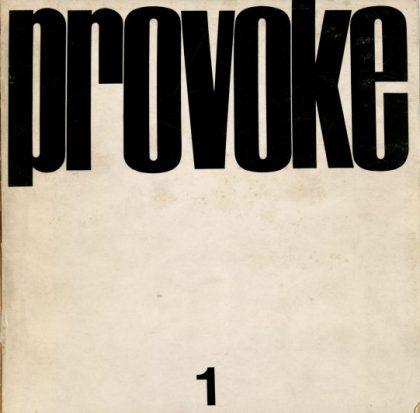 Provoke No. 1, 1968