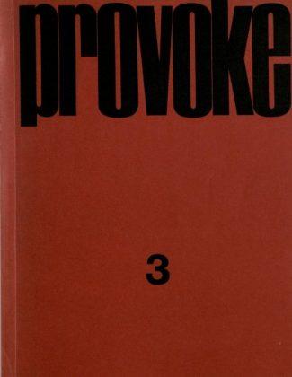 Provoke No. 3, 1969