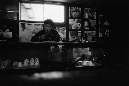Yutaka Takanashi: Buffet Toyota, 1 Tsunohazu, Shinjuku-ku, 1965 ©Yutaka Takanashi, courtesy Galerie Priska Pasquer